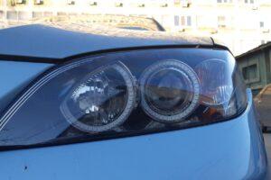 Тюнинг оптики Mazda 6