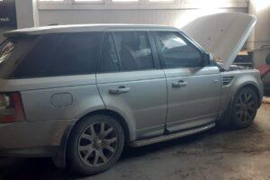 Установка ГБО на Range Rover Sport 5.0 v8 Supercharged