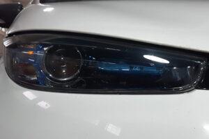 Замена оптики Renault ZOI
