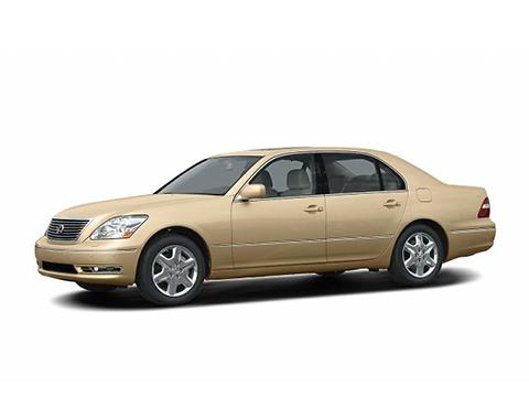 Установка ГБО на Lexus LS 430 4.3 282 Hp V8
