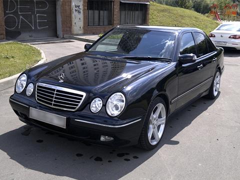 Установка ГБО на Mercedes-Benz E280 2.8 204Hp V6