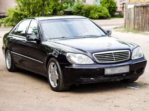 Установка ГБО на Mercedes-Benz S320 3.2 W140 231Hp